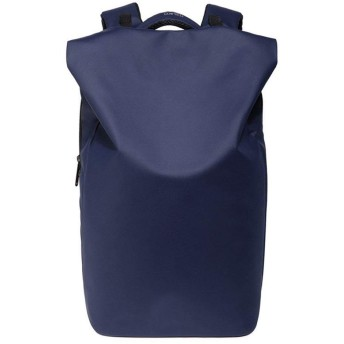 QTMIAO-Bags 防水バックパック男性のファッションのUSB充電レジャー旅行バックパックコンピュータバッグ (Color : Blue)