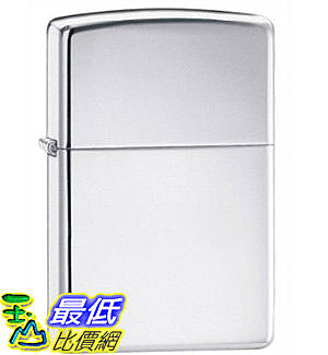 [美國直購 ShopUSA] Zippo High Polish Chrome Pocket Lighter 250 $873