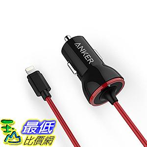 [106美國直購] Anker PowerDrive Lightning 12W iPhone Car Charger with 3ft Lightning Cable 車載充電器
