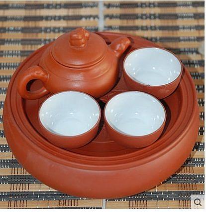 紫砂功夫茶具套裝泡茶器(圖一)