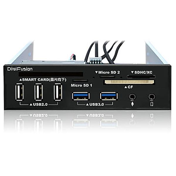 【中將3C】伽利略 RHU03B  5.25吋多介面整合器 (ATM讀卡機/USB 2.0 + 3.0 HUB / AUDIO)   .RHU-03B
