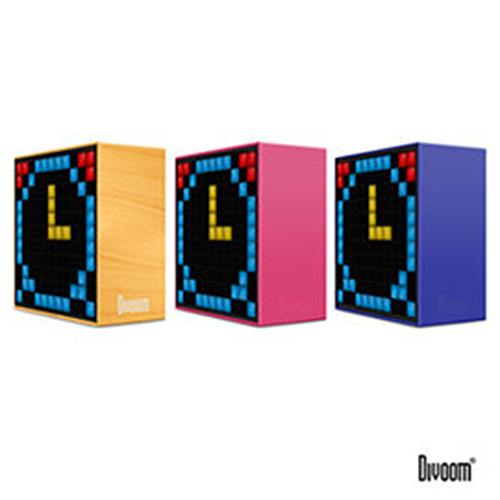 DIVOOM TimeBox 智能LED音樂鬧鐘(藍牙喇叭)-TIMEBOX_PK魔力粉@四保科技