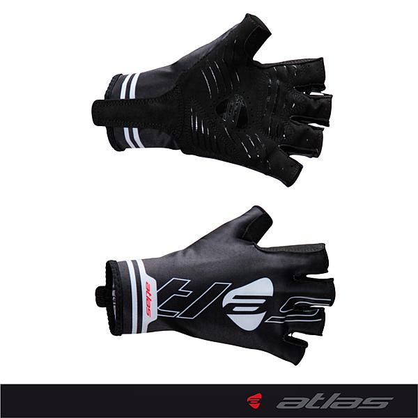 【亞特力士ATLAS】夏季超服貼短指手套  HJ-5063(黑)