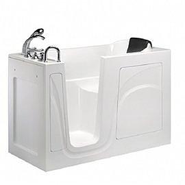 【海夫健康生活館】開門式浴缸 內開式 026-A 基本款 (129.5*65.5*102cm)