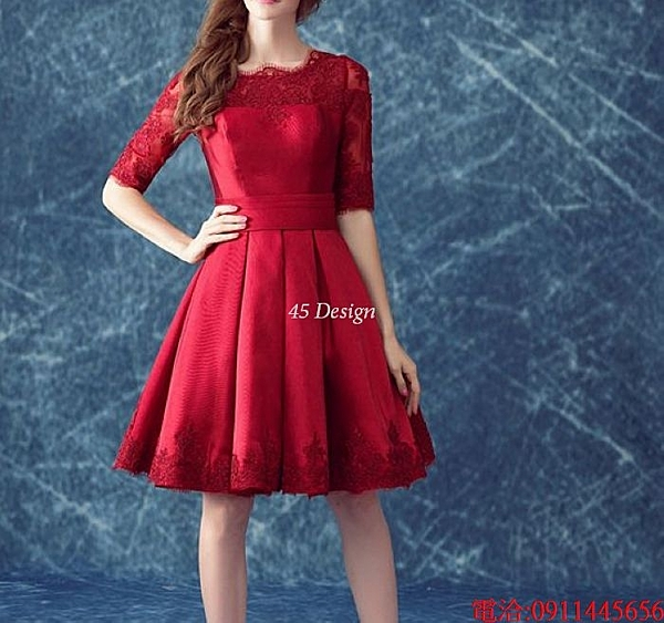 (45 Design)  訂做7天到貨 洋裝 韓版 蕾絲背心裙 繡花修身無袖 連身裙 小禮服 胖MM 大尺碼