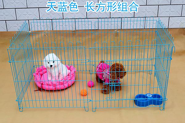 狗圍欄小型犬寵物圍欄狗狗柵欄小狗泰迪博美隔離門狗籠子【快速出貨】