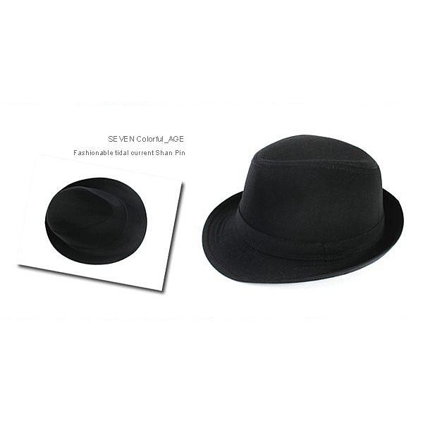全黑潮流時尚紳士帽 質感百分百 潮流達人【NH3】