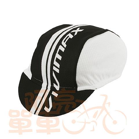 *阿亮單車*Vivimax 單車小帽,vivimax字樣,白色《C00-801-W》