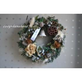 粉雪の森クリスマスwreath