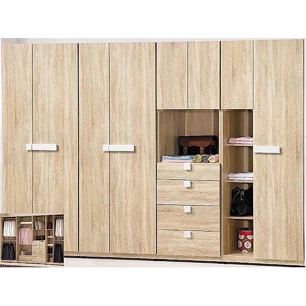 衣櫃 衣櫥 BT-40-2345 多莉絲9尺衣櫃【大眾家居舘】
