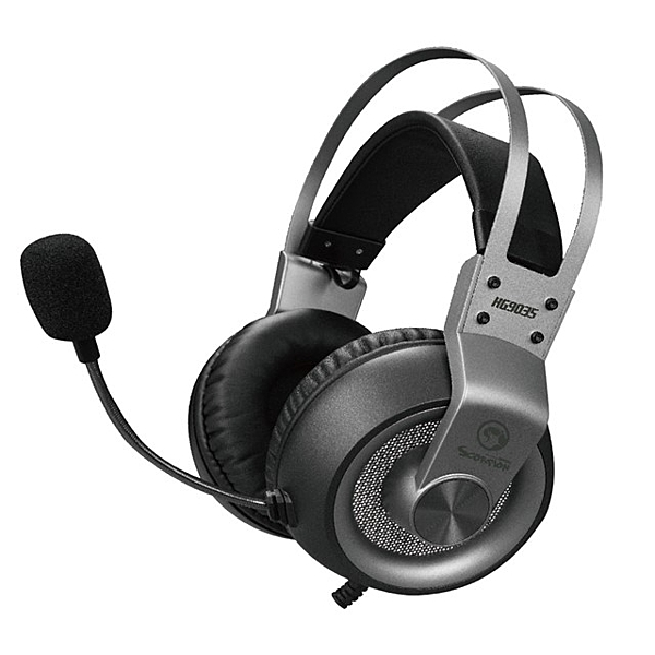 【MARVO魔蠍】HG9035 7.1聲道電競耳機-鐵灰