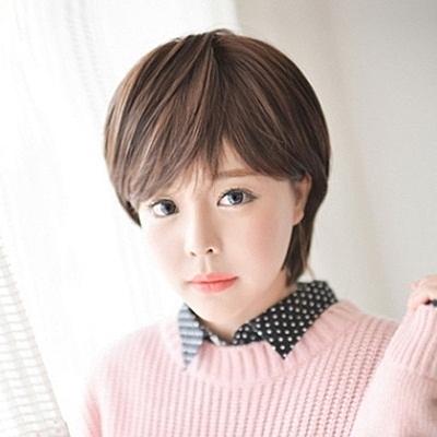 假髮(短髮)-氣質帥氣個性斜瀏海女配件3色73fi18【時尚巴黎】
