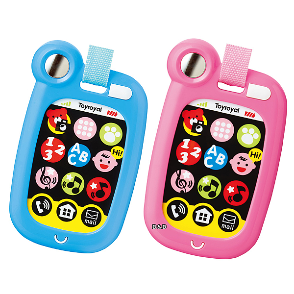 《 日本 Toyroyal 樂雅 》電子學習按鍵盤 ( 兩色可選 )╭★ JOYBUS玩具百貨