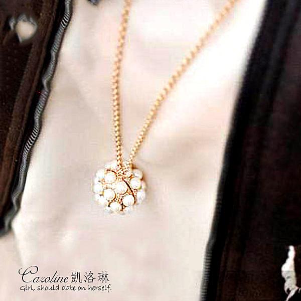 《Caroline》★【做我自己】質感、俏麗百分百.甜美魅力、迷人風采時尚長項鍊66670
