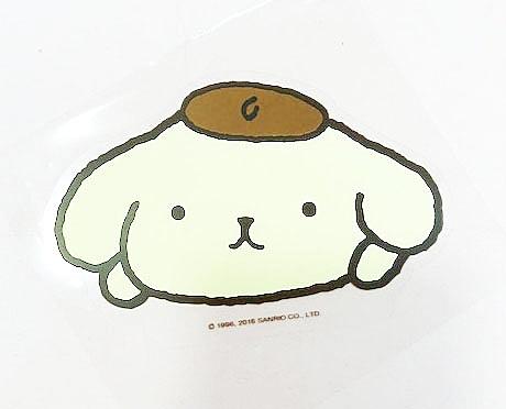 【震撼精品百貨】Pom Pom Purin 布丁狗~防水貼紙-大頭