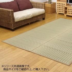 純国産 掛川織 い草カーペット 『奥丹後』 ベージュ 本間10畳(約477×382cm) 4412919