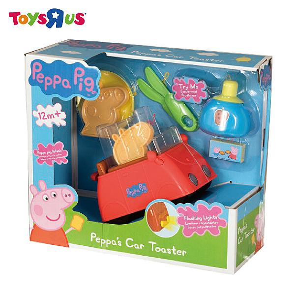 玩具反斗城 PEPPA PIG 粉紅豬小妹可愛小紅車吐司