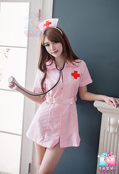 【愛愛雲端】粉紅甜美護士服二件組 R8NA15030092