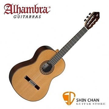 Alhambra 阿罕布拉 10P 全單板古典吉他 西班牙製 【10-P/附古典吉他硬盒】西班牙古典吉他
