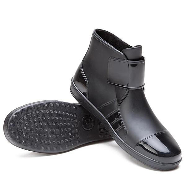 短筒雨鞋男雨靴膠鞋防滑水鞋【步行者戶外生活館】
