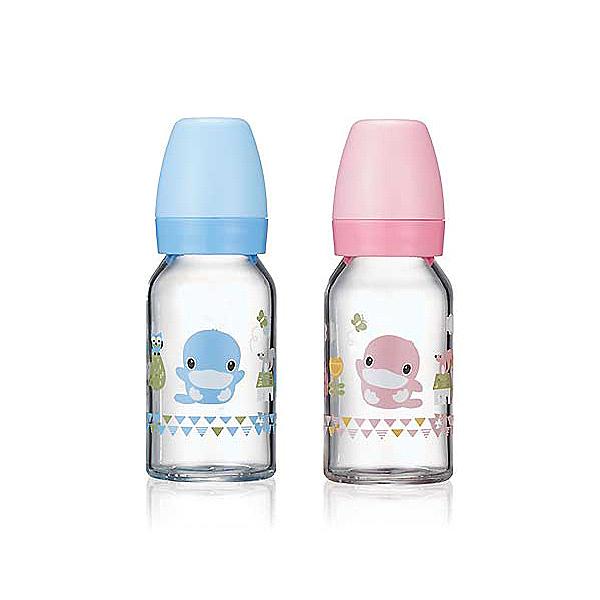 KU KU 酷咕鴨 超矽晶標準玻璃奶瓶-120ml【佳兒園婦幼館】