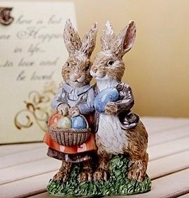 可愛情侶兔
