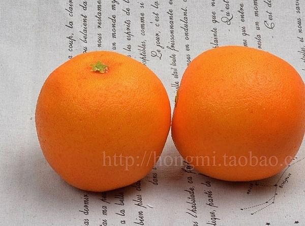 [協貿國際]仿真新奇士橙子輕型裝飾