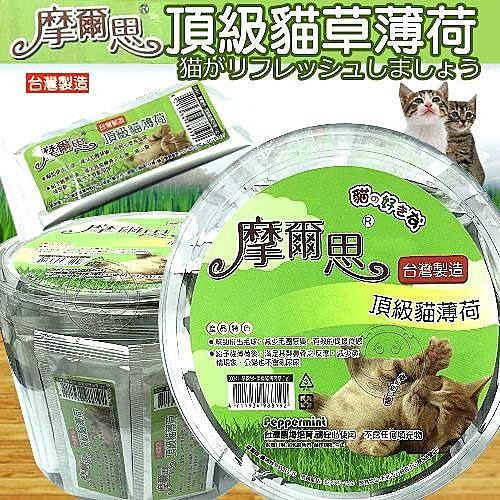 【培菓平價寵物網】摩爾思頂級貓草薄荷1g*50包