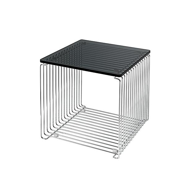 Montana 34.8x34.8cm 潘頓系列 線條 方形壁櫃 專用配件 - 檯面桌板(單格櫃 櫃深 38 cm 專用)-玻璃桌面