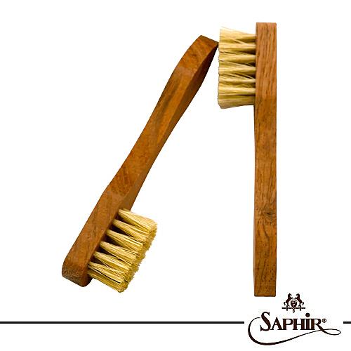 【SAPHIR莎菲爾-金質】多用途刷(小)-皮鞋鞋材工具  皮鞋細小接縫除塵刷