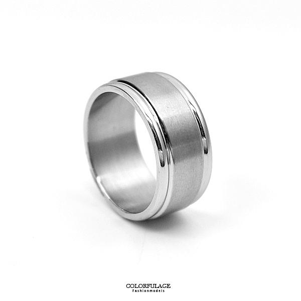 戒指 雅痞簡約基本素款鋼戒NC228