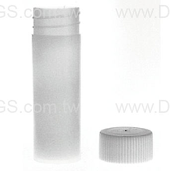 《KIMBLE & CHASE》塑膠閃爍計數瓶 Vail, Scintillation Plastic