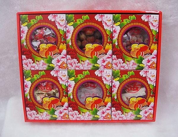 六色糖 男方訂婚12禮 結婚用品 六禮 十二禮 冰糖【皇家結婚百貨】