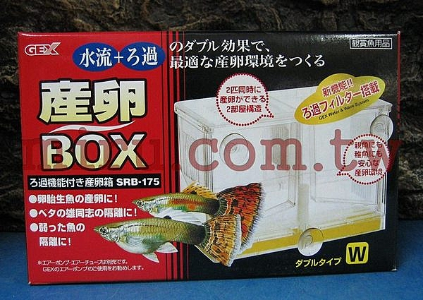 【西高地水族坊】日本五味GEX 孔雀產卵盒(繁殖盒)-W