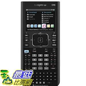 [美國直購 ShopUSA] Texas Instruments 圖形計算機 Nspire CX CAS Graphing Calculator (N3CAS/GC/2L1)