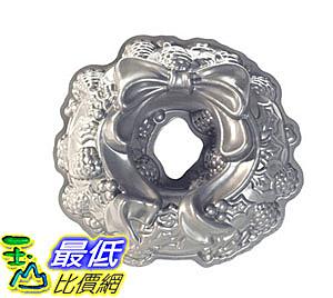 [美國直購] 花環蛋糕模具 Nordic Ware Platinum Holiday Wreath Bundt Pan B004O3USQ0