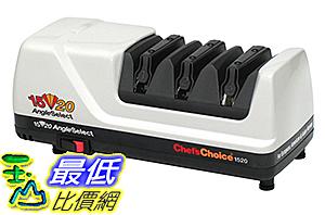 [美國直購] 電動磨刀器 Chef's Choice 1520 AngleSelect Diamond Hone Knife Sharpener-White