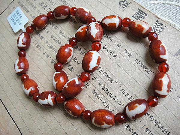 山海情懷西藏 女士龍紋觀音天珠手鏈
