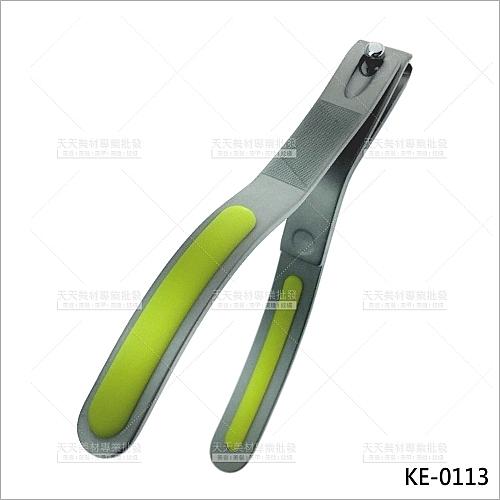 日本貝印KE-0113不鏽鋼強力指甲剪(綠)[56839]