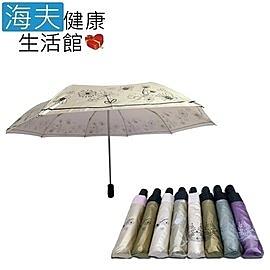 【海夫健康生活館】分段式 色膠 自動開收傘