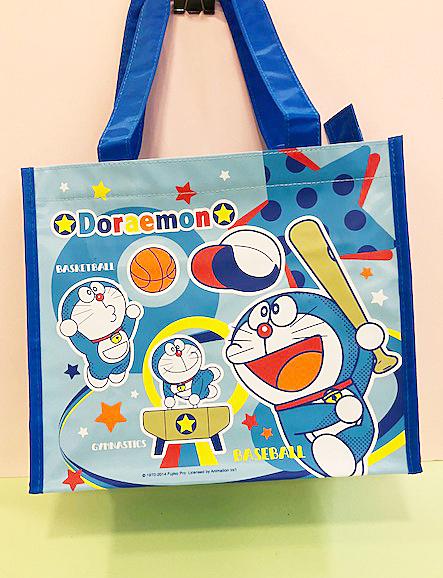 【震撼精品百貨】Doraemon_哆啦A夢~Doraemon環保提袋-運動圖案