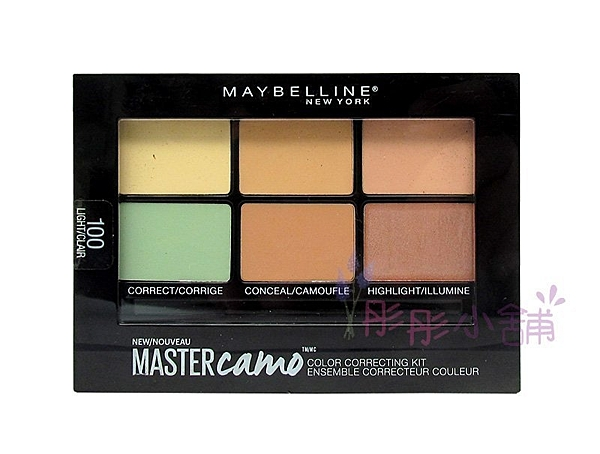 【彤彤小舖】Maybelline Color Correcting 迷彩修飾多功能粉餅 6g 修飾 遮瑕 提亮 2017年5月製