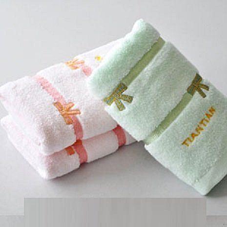 純棉毛巾家庭三條裝D049