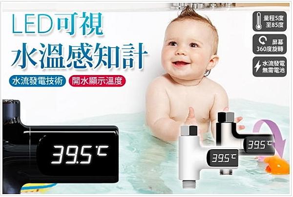 【NF65LED可視水溫感知計】 LED水溫計 精准可視水溫感知計 LED可視安全溫度計