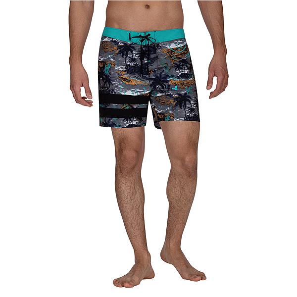 Hurley PHNTM BP OUTRIGGER BDST 16 海灘褲-PHANTOM-黑(男)