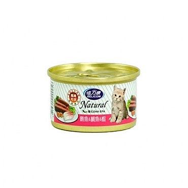 BELICOM 倍力康 化毛貓 鮪魚+鯛魚+蝦 貓罐80G x 24入