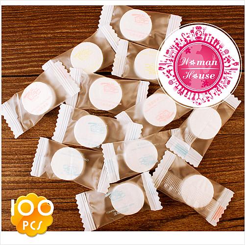 酷品C-058糖果造型!壓縮面膜.紙面膜錠(100入) [53082]