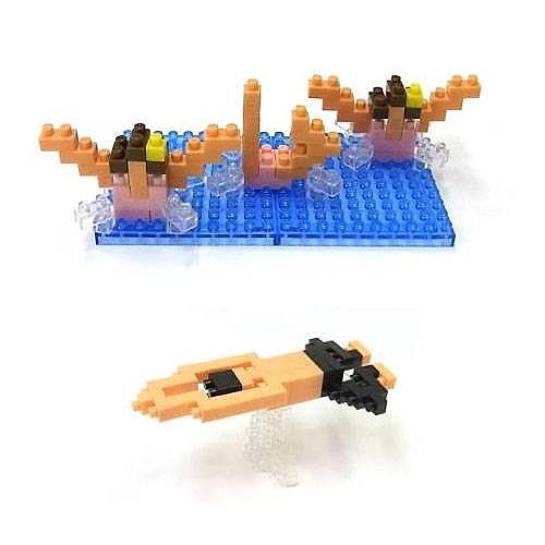 【日本 Kawada 河田】Nanoblock 迷你積木 水上運動項目 NBCB-001