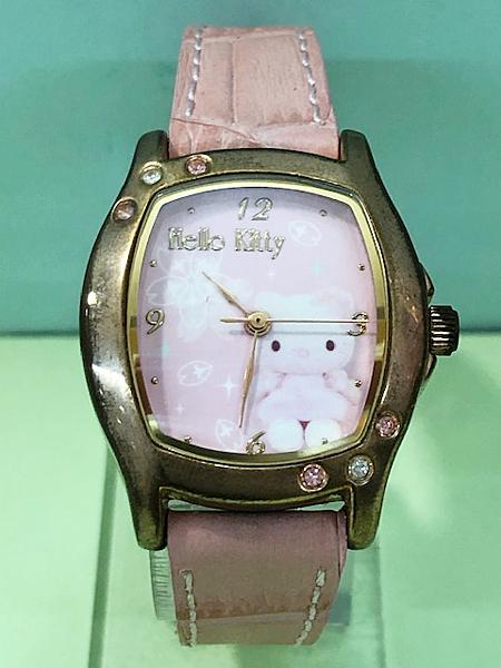 【震撼精品百貨】Hello Kitty 凱蒂貓~Sanrio HELLO KITTY手錶-櫻花#21040