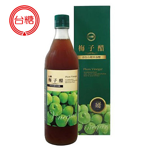 【台糖優食】梅子醋 (600ml) x6瓶/箱 免運費